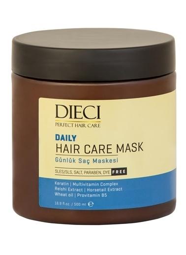 Dıecı Dıecı Saç Maskesi Daily Günlük Kullanım Tuzsuz 500 Ml Renksiz